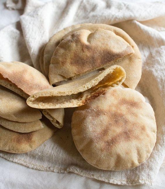 Homemade Pita Bread by Veg Recipes Of India