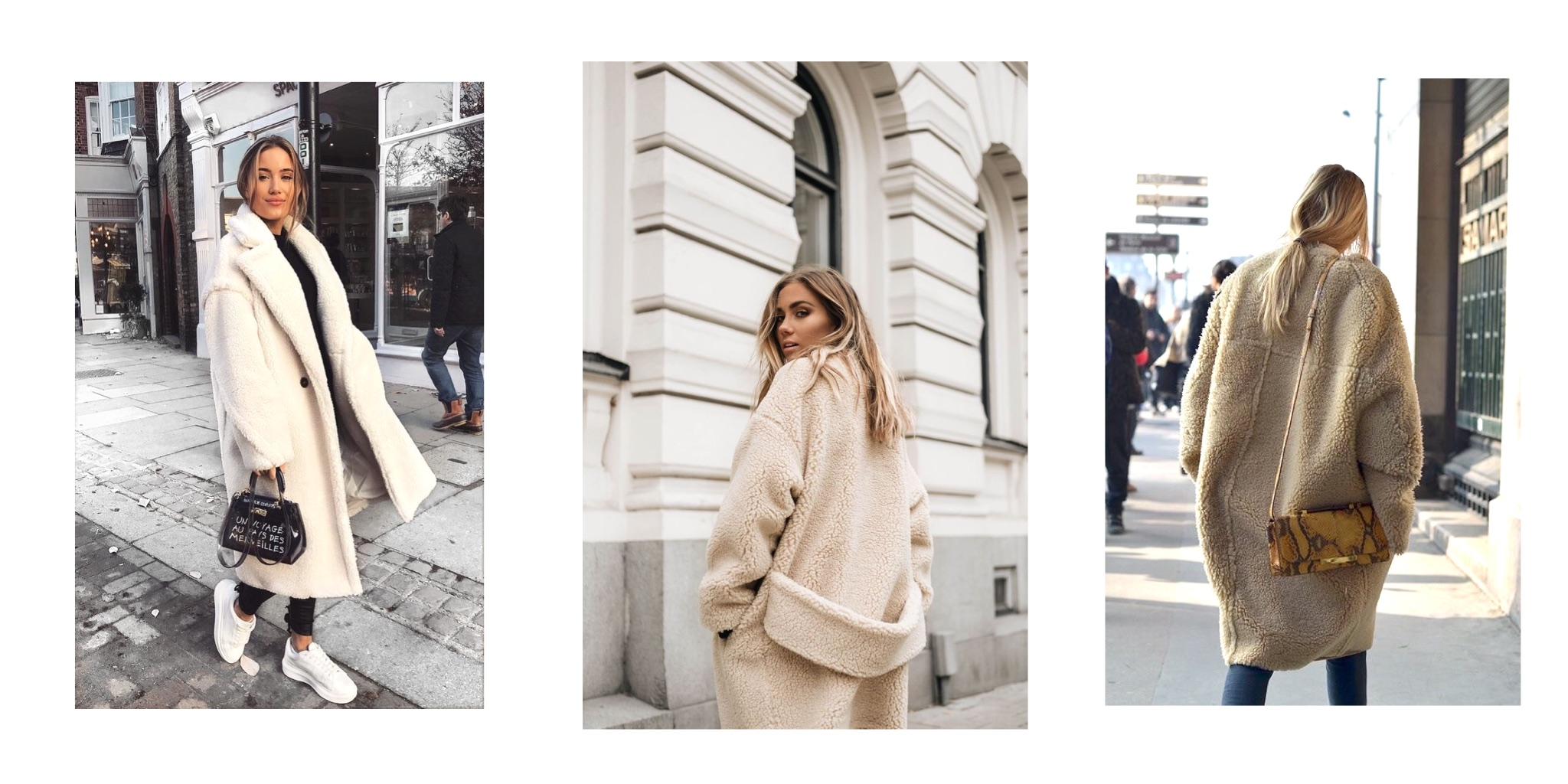 Joanna Colomas Faux Shearling Coats Winter 2019 All Articles Blog