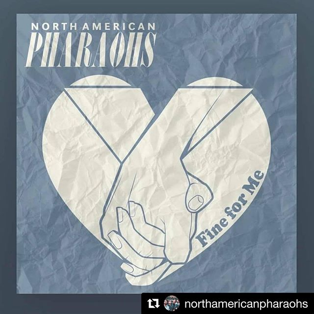 #Repost @northamericanpharaohs with @get_repost ・・・ The wait is over! 'Fine for Me' is here! It's out right now on all major streaming platforms!  We worked really hard on this and we can't stress enough how crucial first day listeners are in this business. Please go give it a listen and SHARE it with your friends and family. Or even your enemies, like just everyone.  Let us know what you THINK! #SHOUTOUT to @mackdamon @anthonydiazdeleon @stonecreeksound . . . #newsingle #newsong #newmusicradar #music #musician #sanantonio #rock #pop #emo #alt #indie #emovibes #coldfront #october #single #art #artist #satx #supportlocalmusic #localmusic