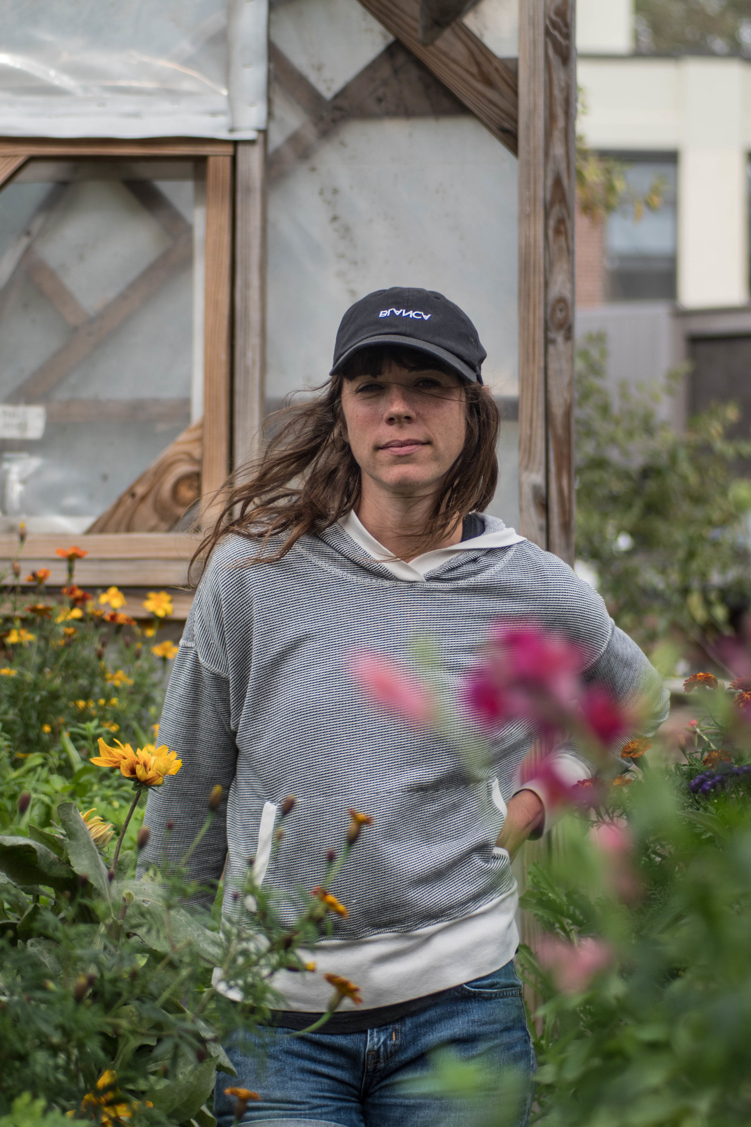 Melissa Metrick, the Roberta's gardener, has been with the restaurant since 2010 and teaches Intro to Urban Agriculture at New York University.