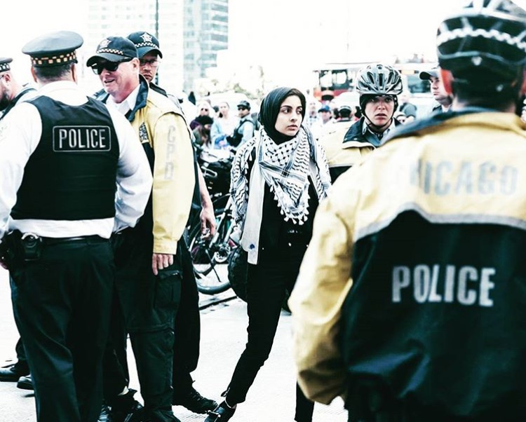 Hoda Katebi wrote about her experince being arrested at a protest to stop ITOA in Chicago. Read more  here .