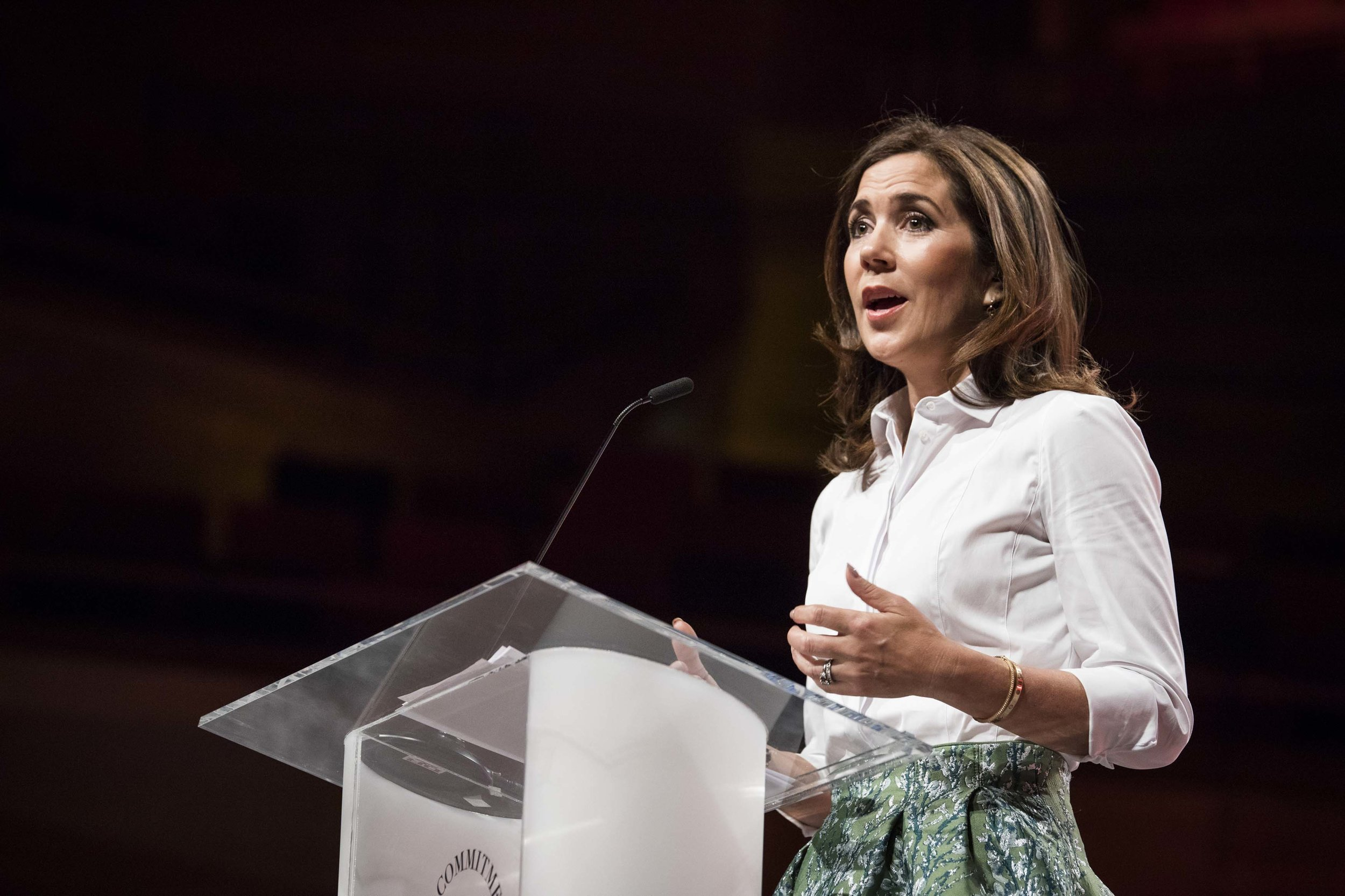 The Crown Princess of Denmark, Mary. Photo Credit: Global Fashion Agenda / Copenhagen Fashion Summit