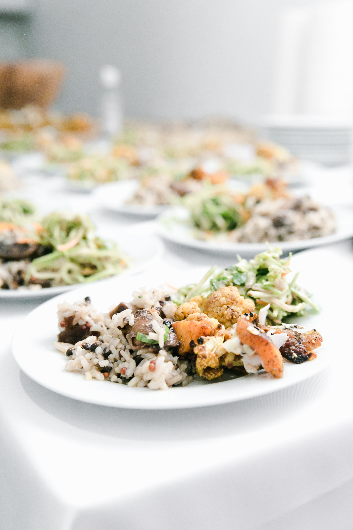 Vegan dishes provided by Carolina Santos Neves  @caroleenanyc