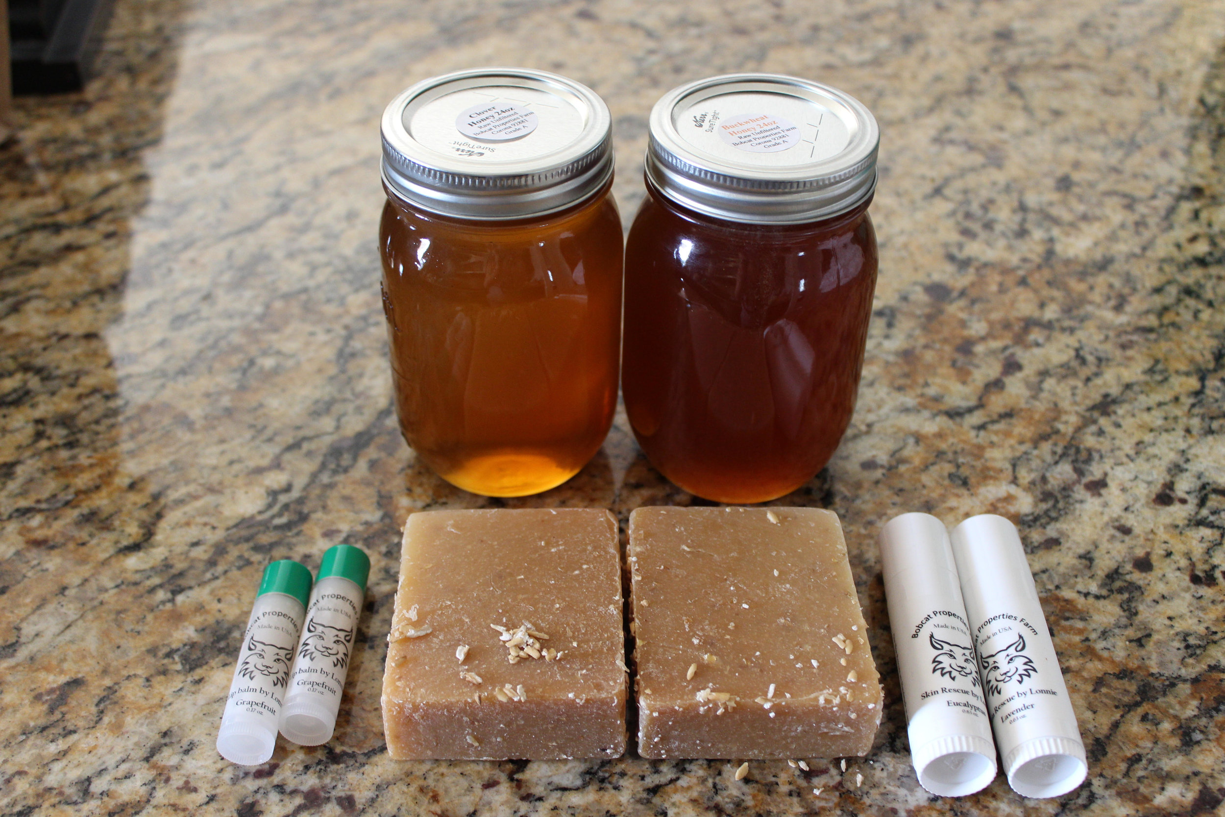 Not only do they make honey, but they also make body care products with honey infused in them
