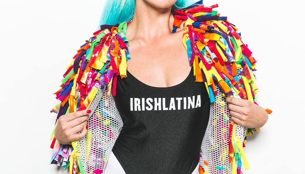 IRISHLATINA's Confetti Coat.