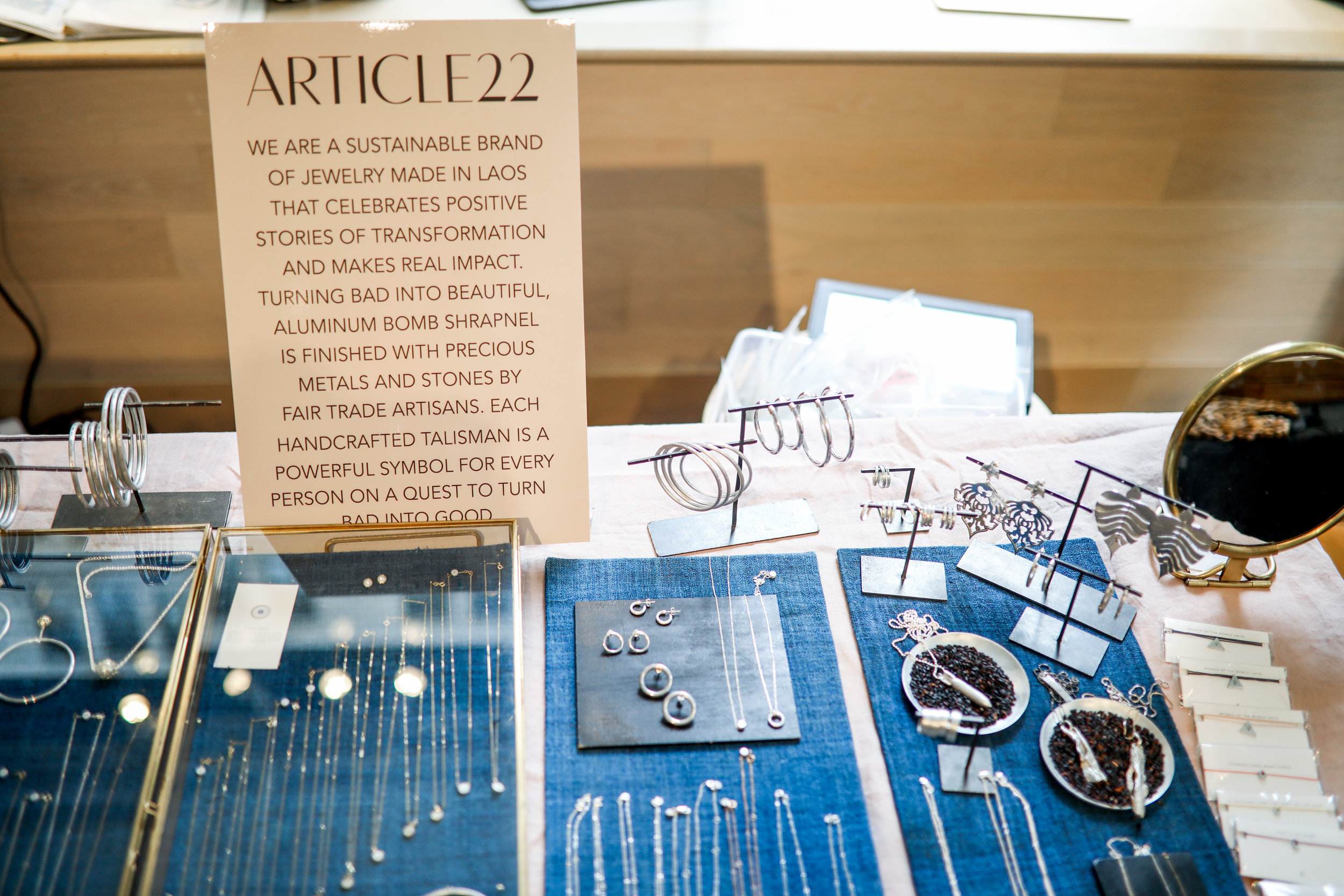 Jewelry by  Article 22 .