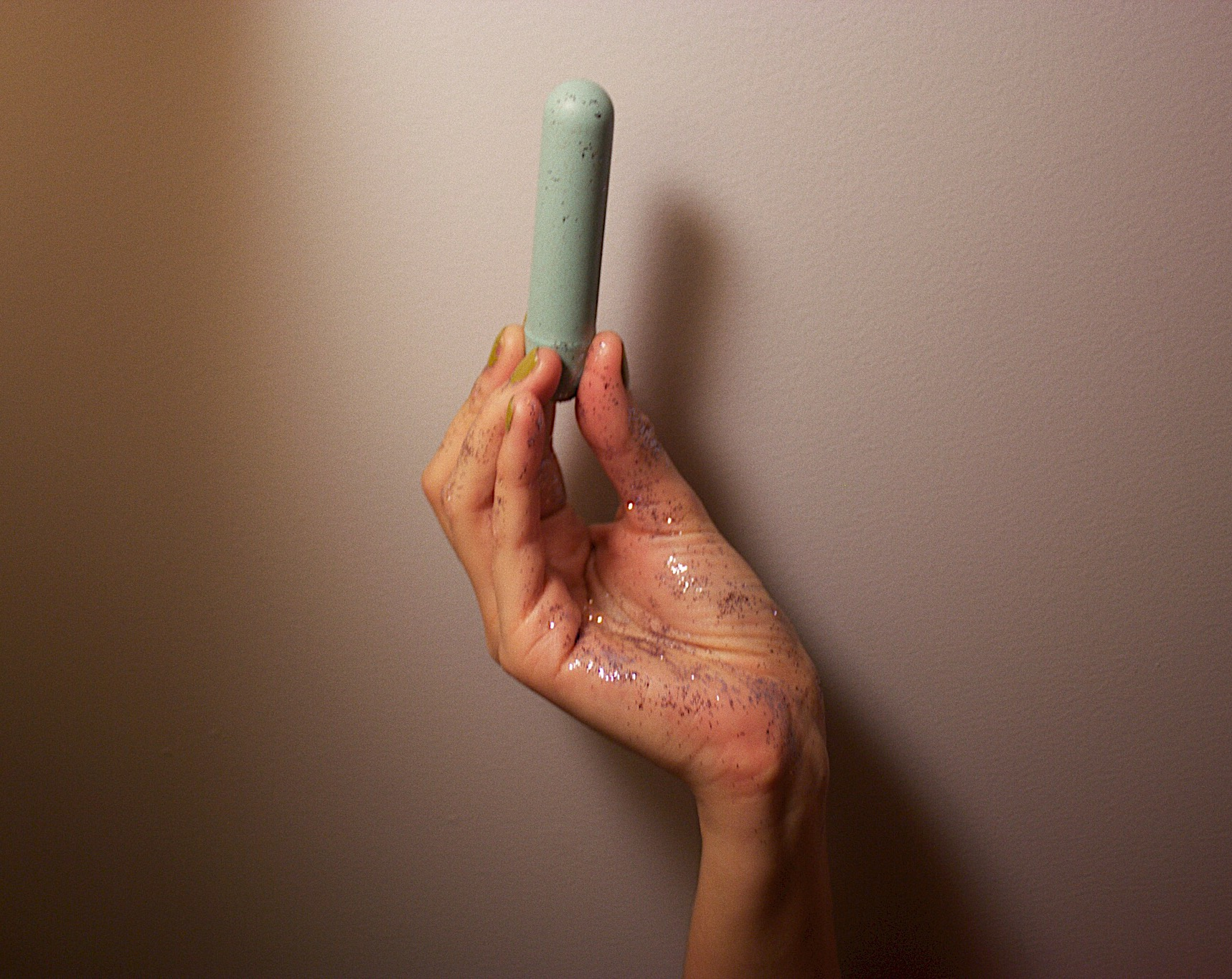 Eco-bullet vibrator from  Package Free Shop . Photographed by  Sam Baselice