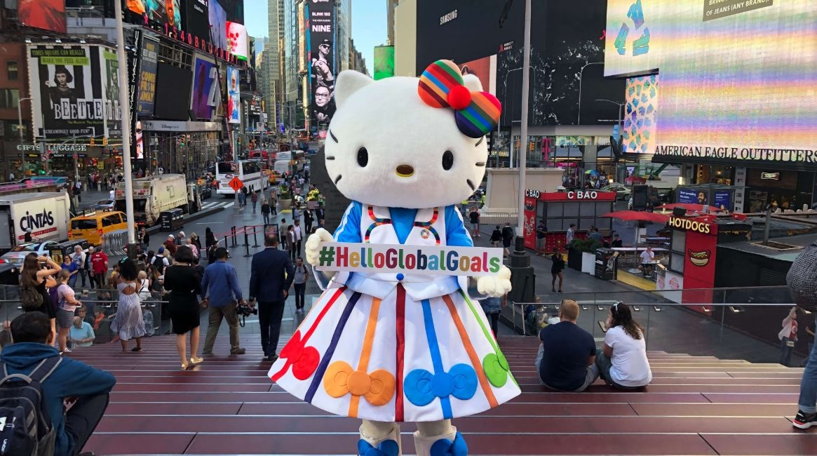 Hello Kitty at the United Nations