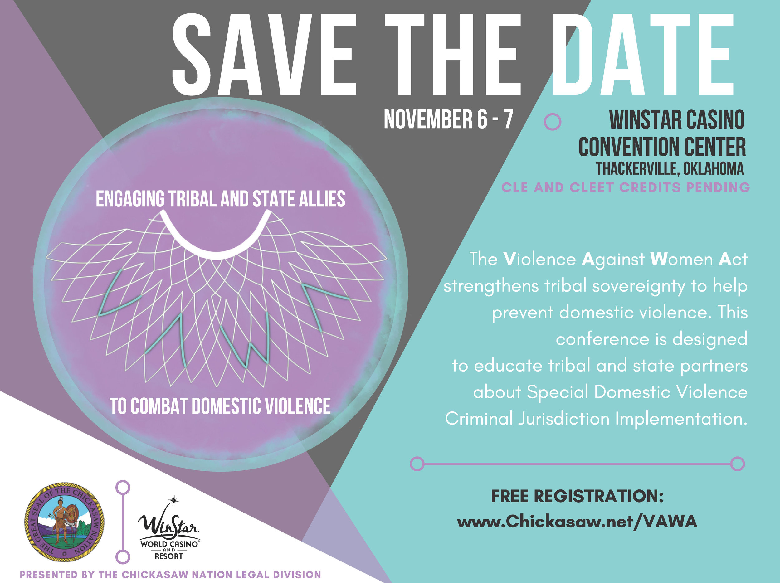 2018-10-04 Save The Date - VAWA Conference- Chickasaw Nation.jpg