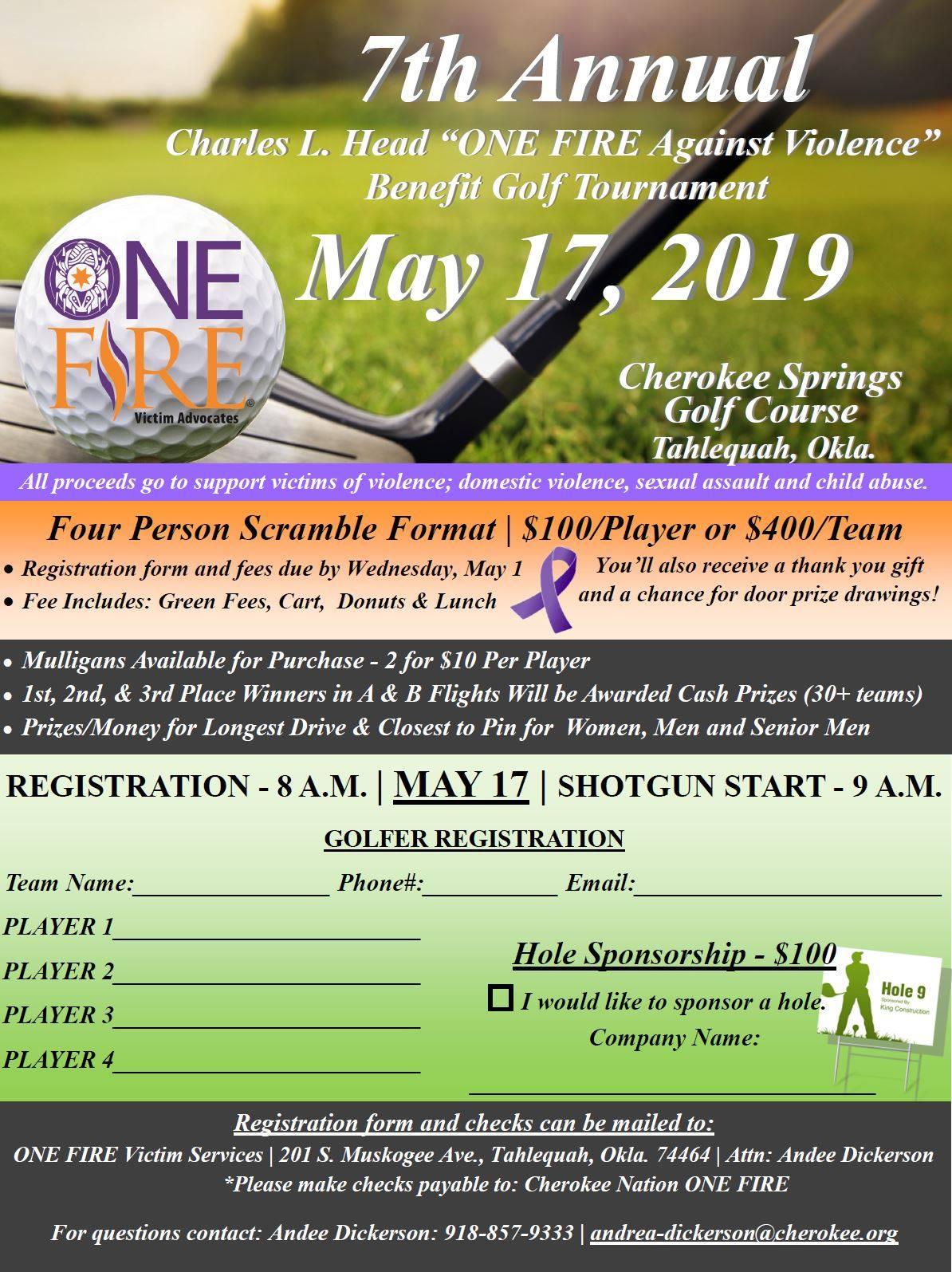 Cherokee Nation One Fire Golf Tournament.jpg