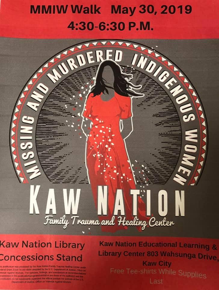 Kaw Nation Family Trauma Healing Center MMIW