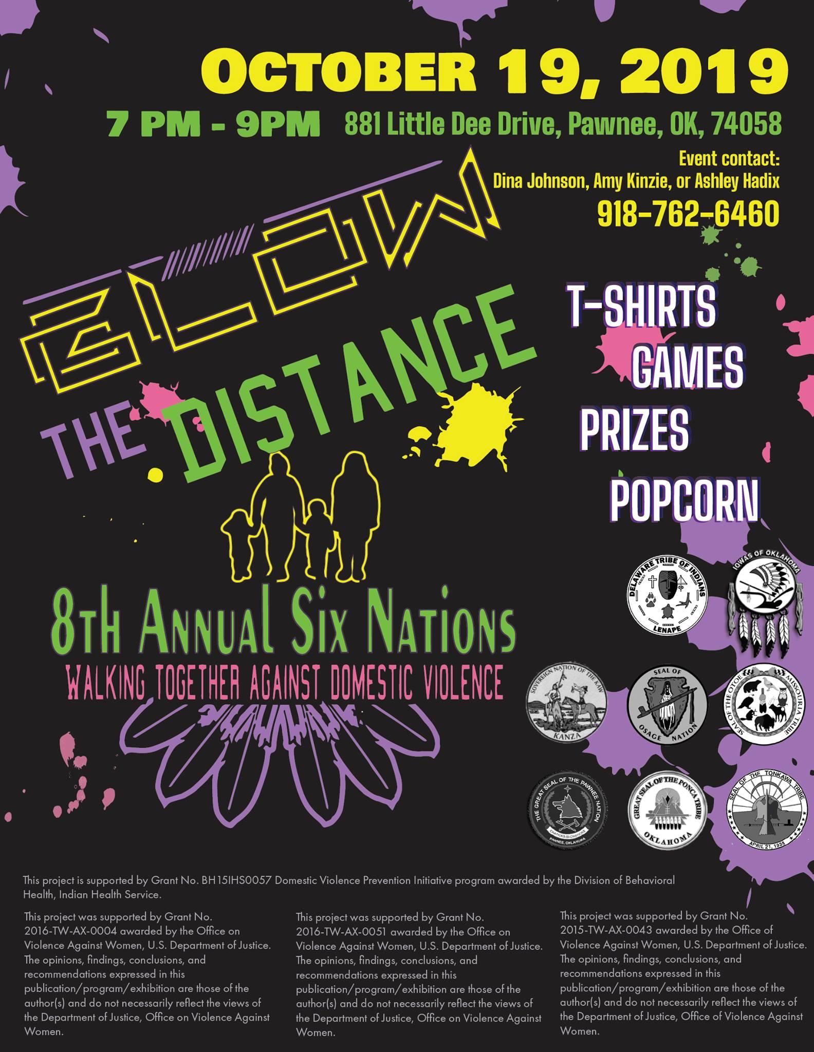 Glow the Distance Six Nation DV Walk