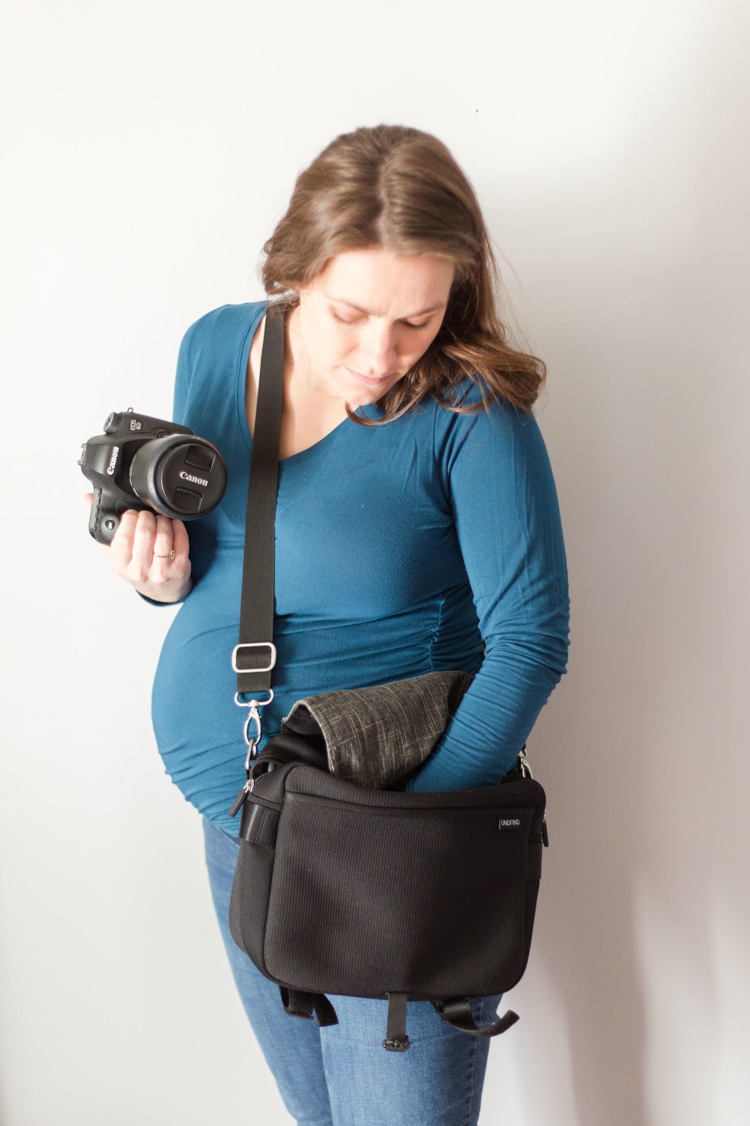 UNFIND waist shooter bag