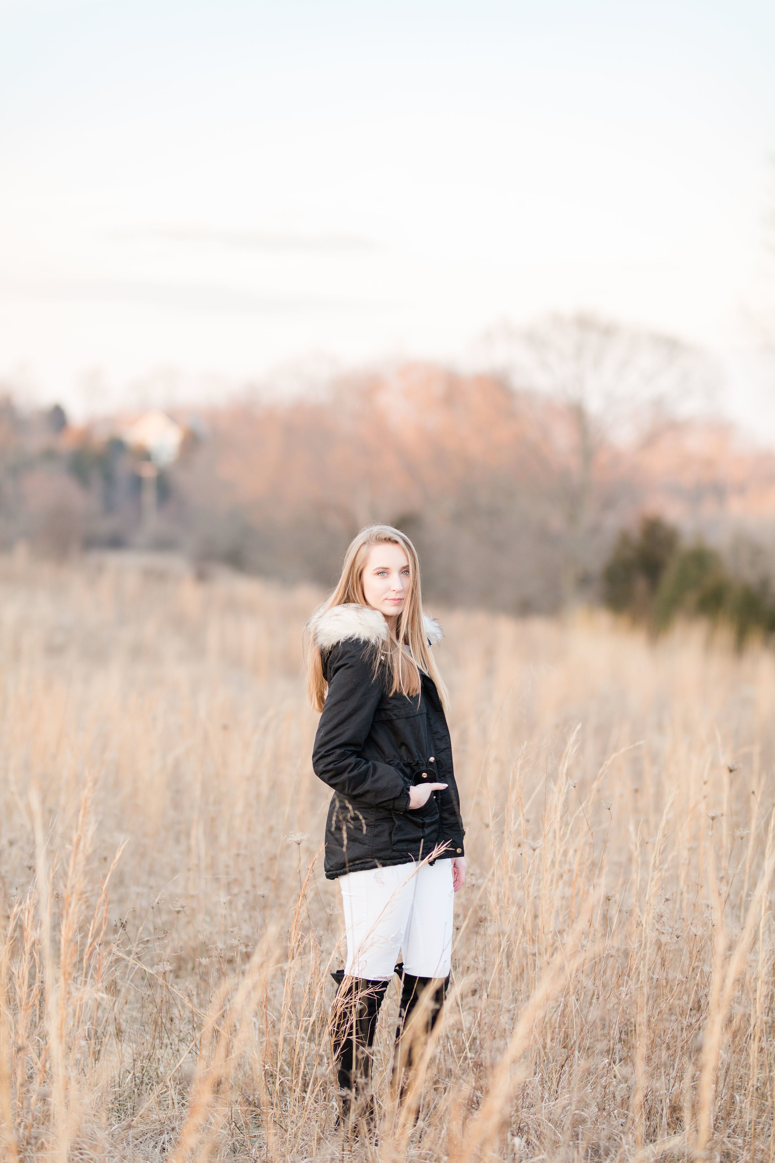 outdoor senior photography session martinsburg wv