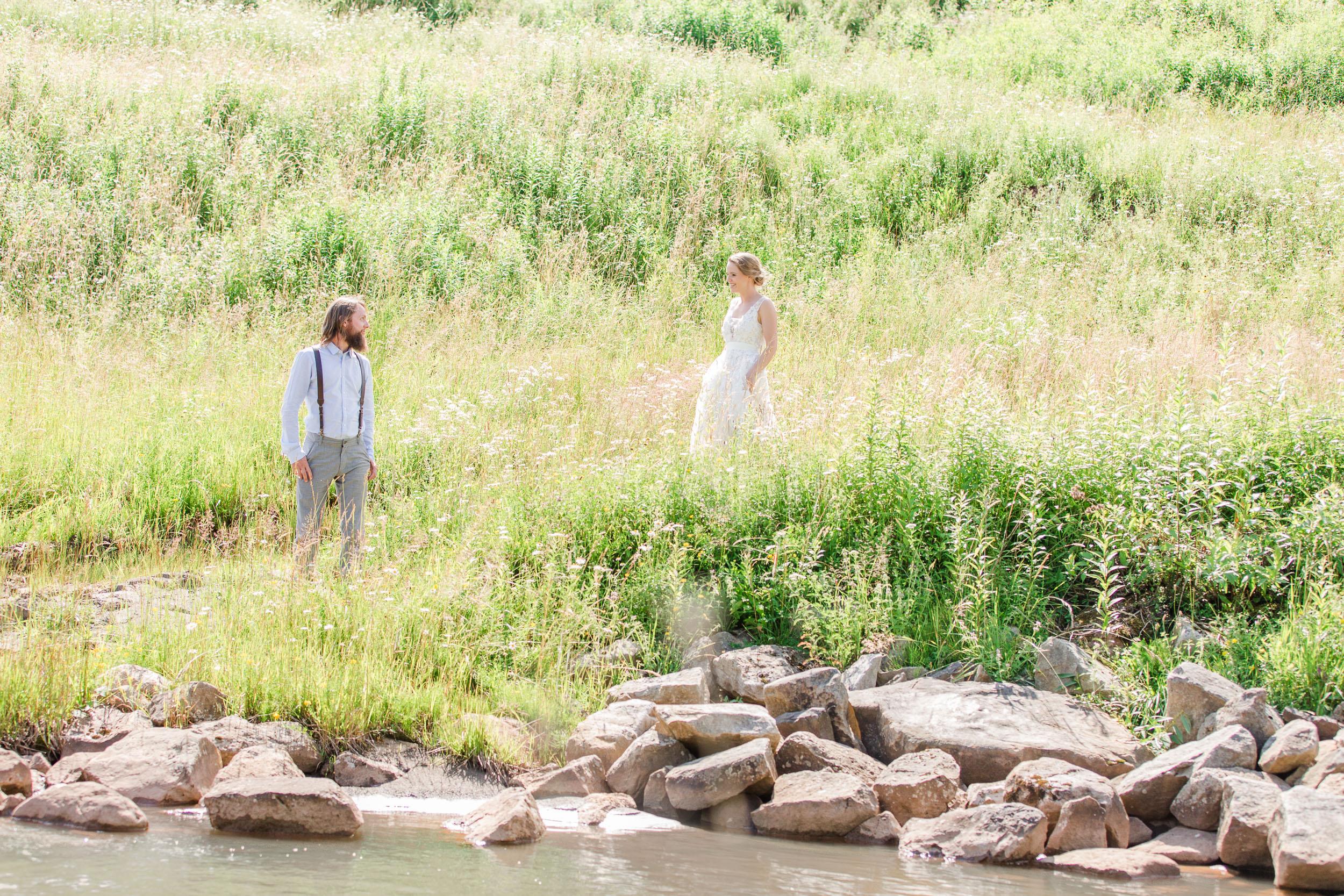 wv snowshoe wedding first look summer hiking-1.jpg
