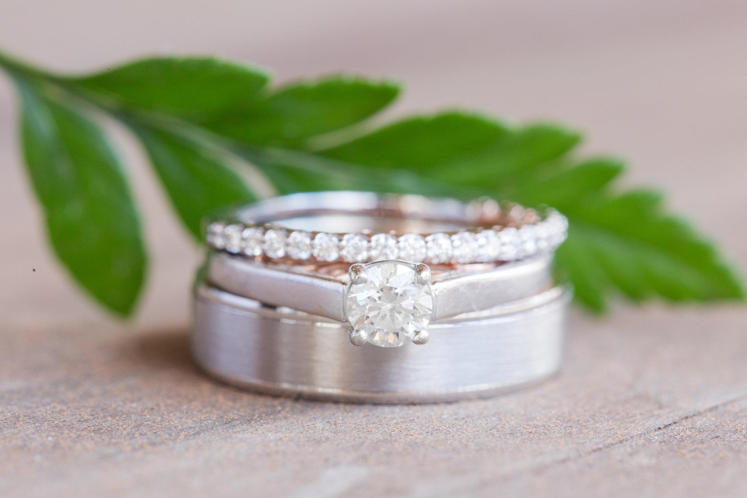 wedding rings at snowshoe wv