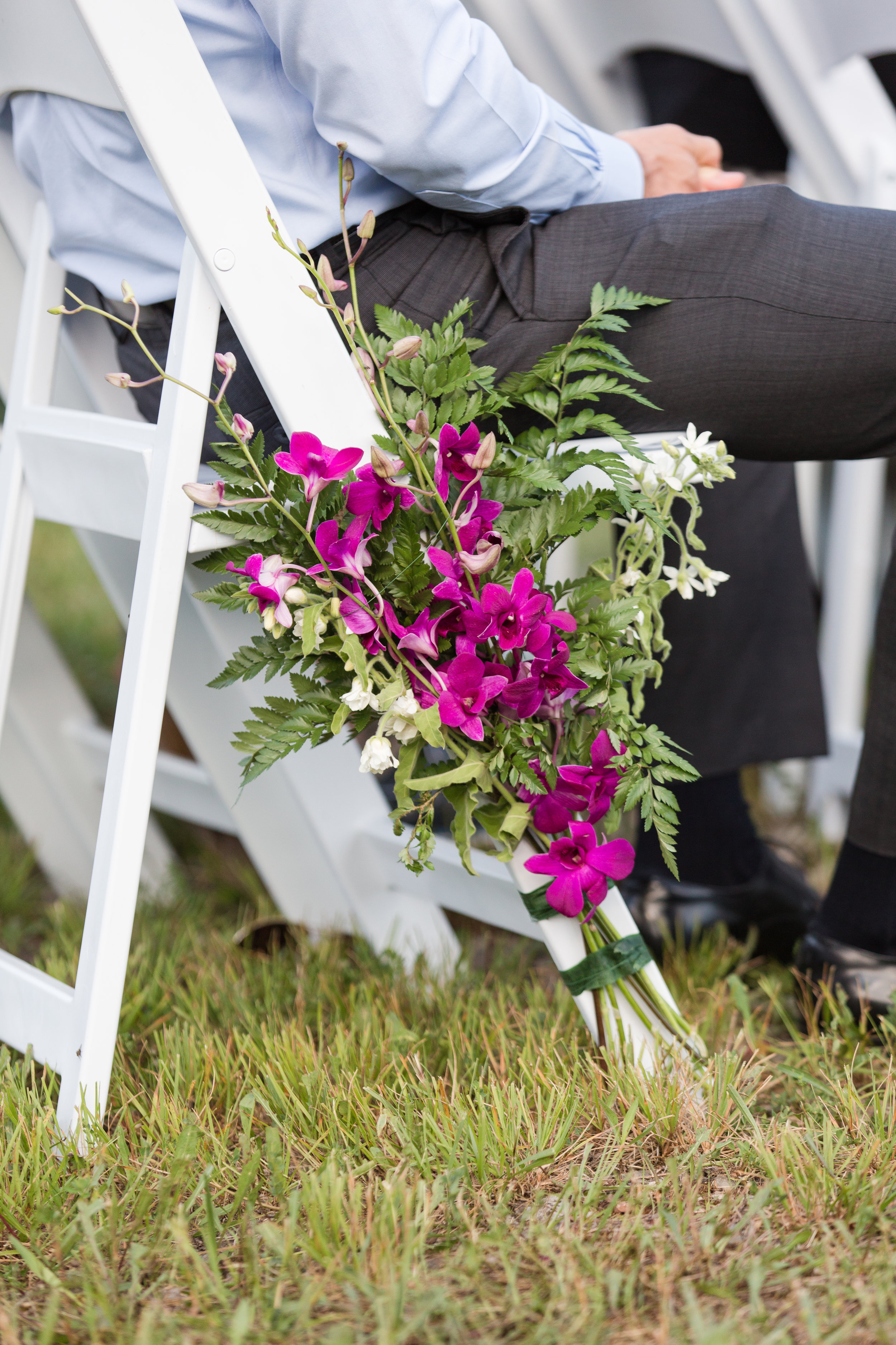 authentic genuine wedding photography in wv - aisle decoration- diy flowers- lakeside mountain wedding wv