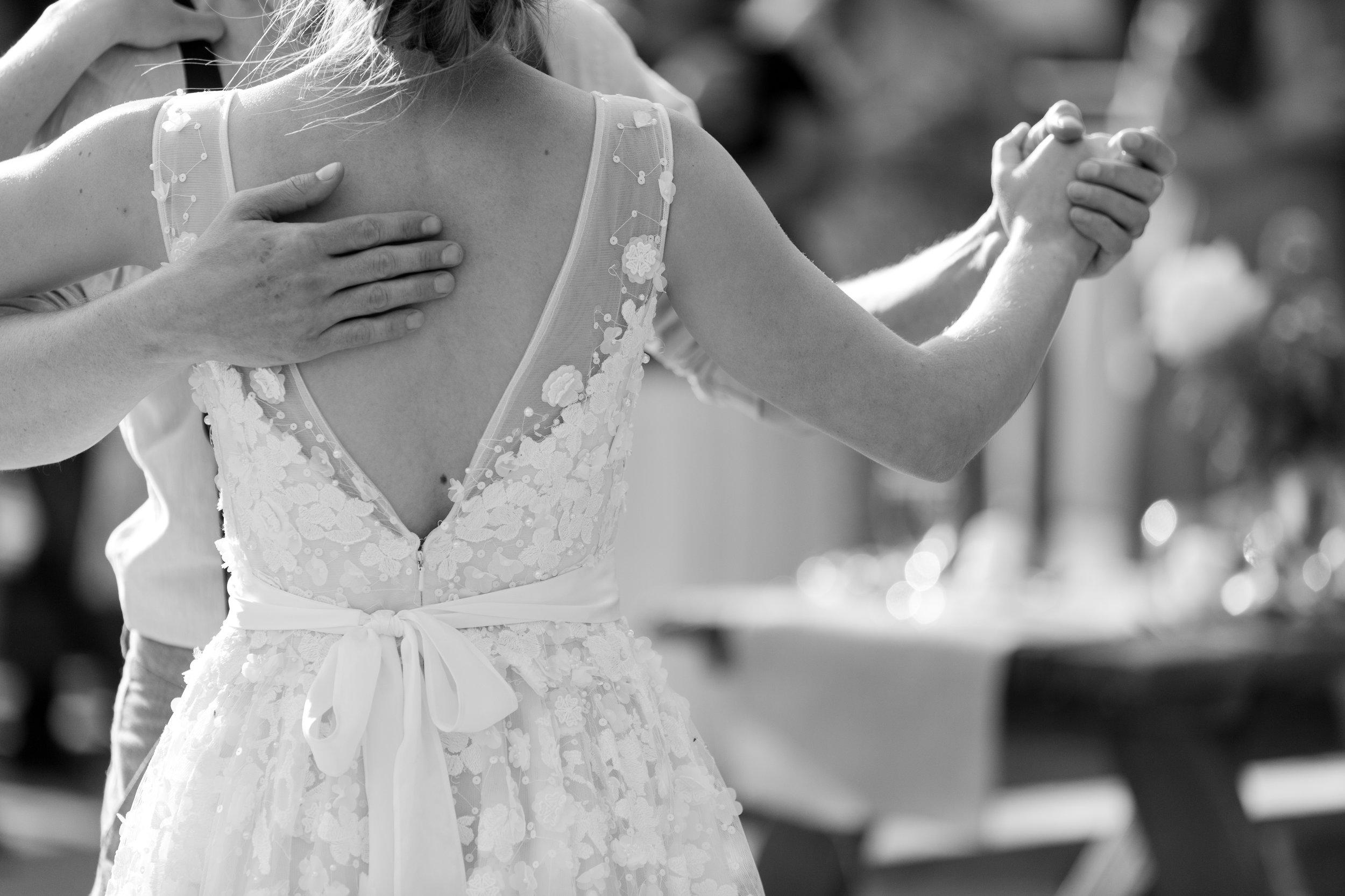 first dance, wv wedding