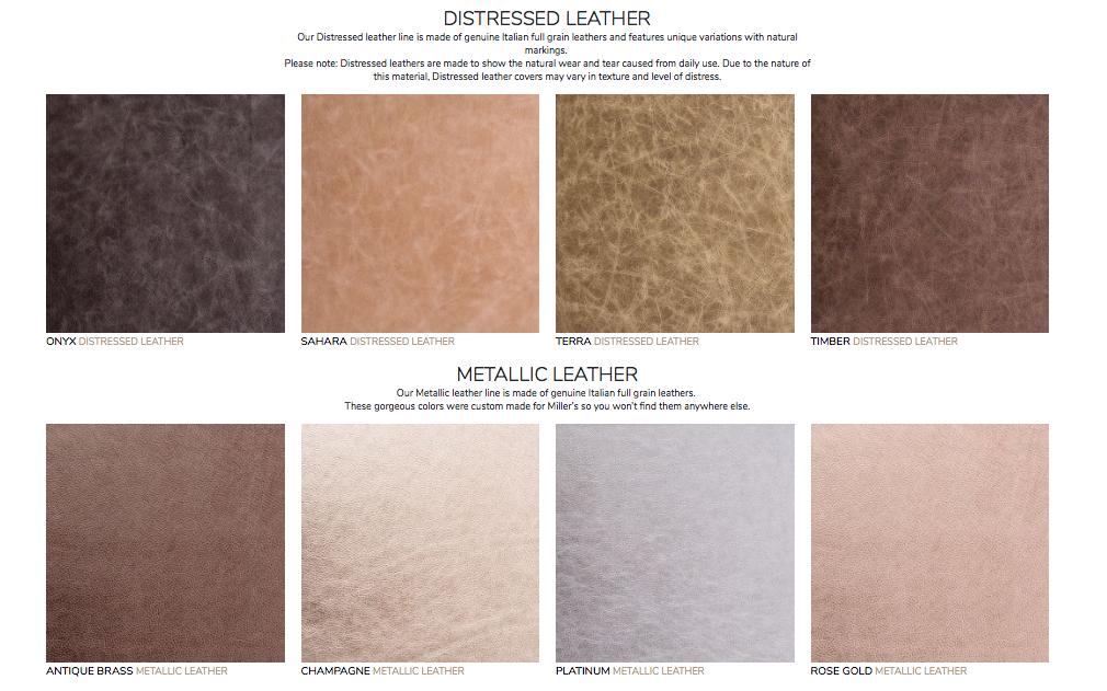 distressed leather, metallic leather, signature album.jpg