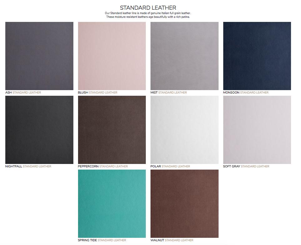 standard leather, signature albums.jpg
