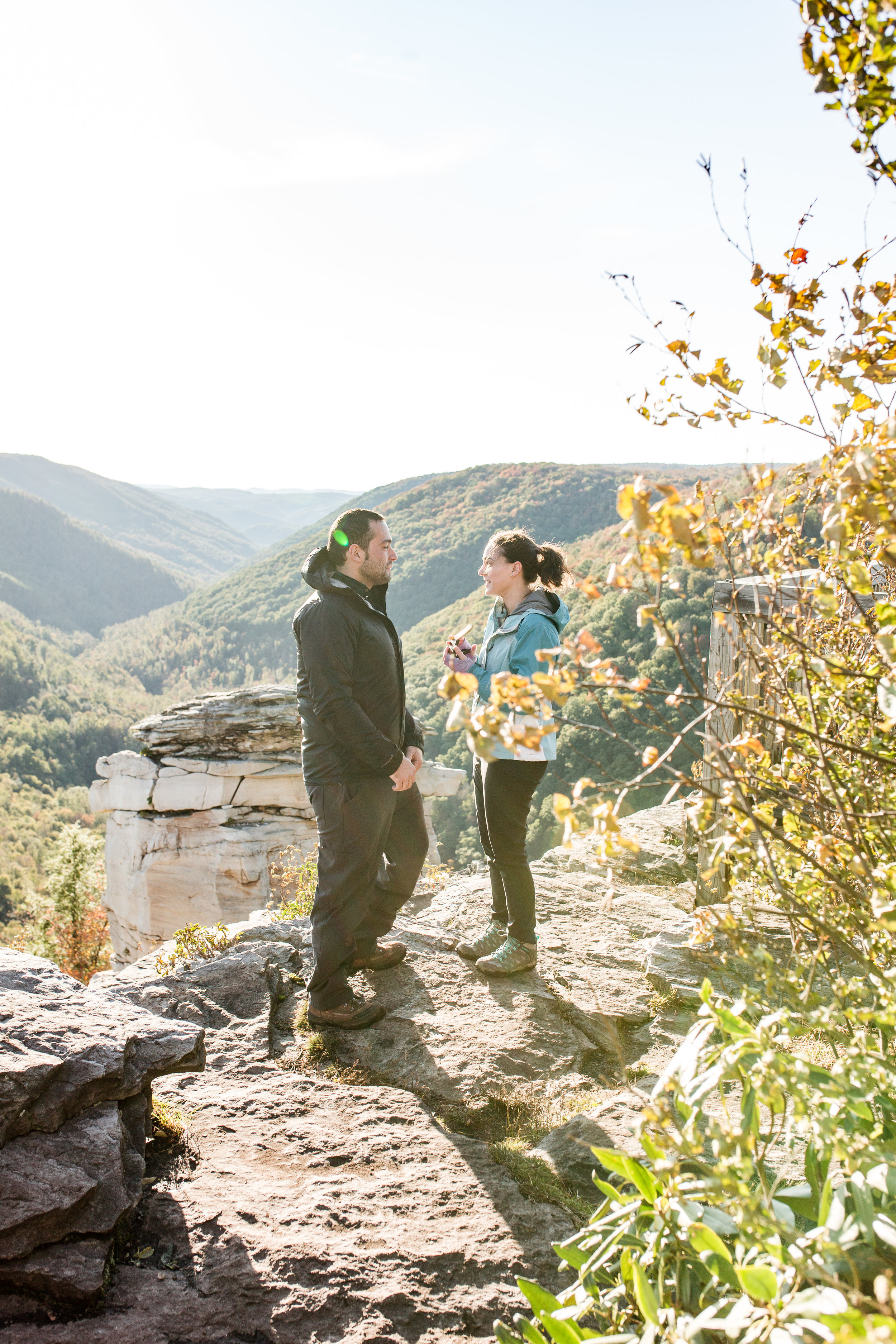 Conrad and Nicole, wv proposal lindy point blackwater falls-13.jpg