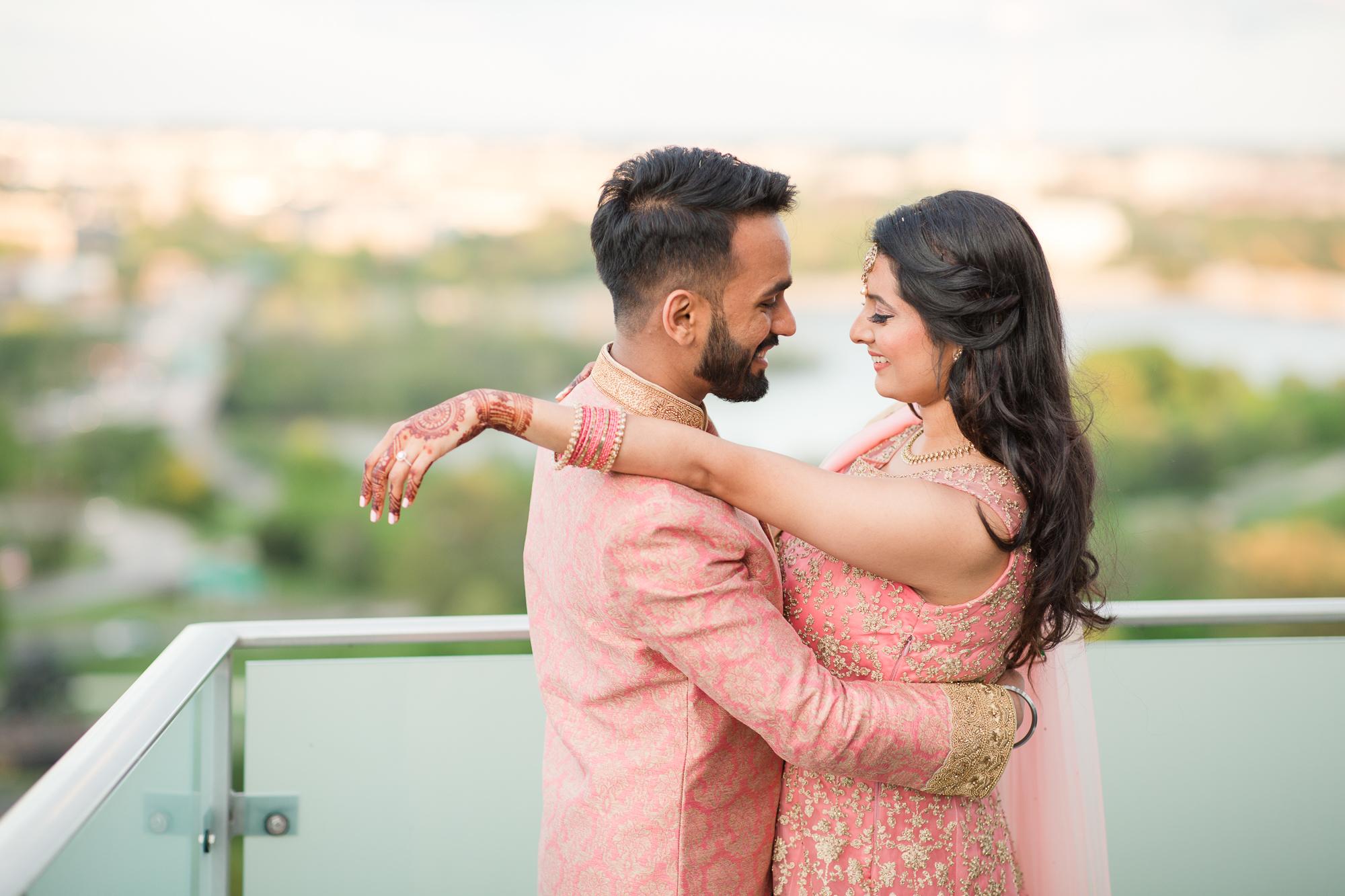 anumeet and gopika, indian engagement ring ceremony, top of the town, alexandria, northern virginia, nova weddings-71.jpg