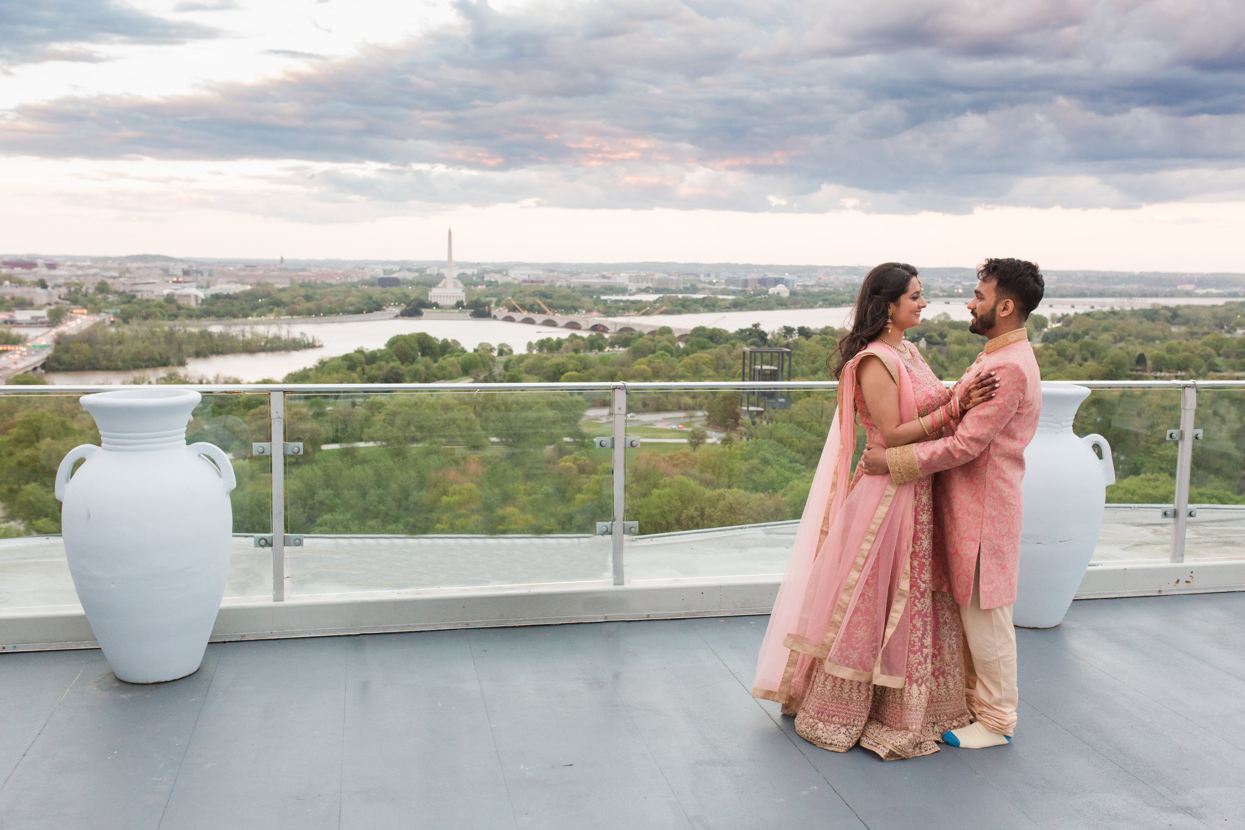 anumeet and gopika portrait, top of the town terrace, with distraction edited out.jpg