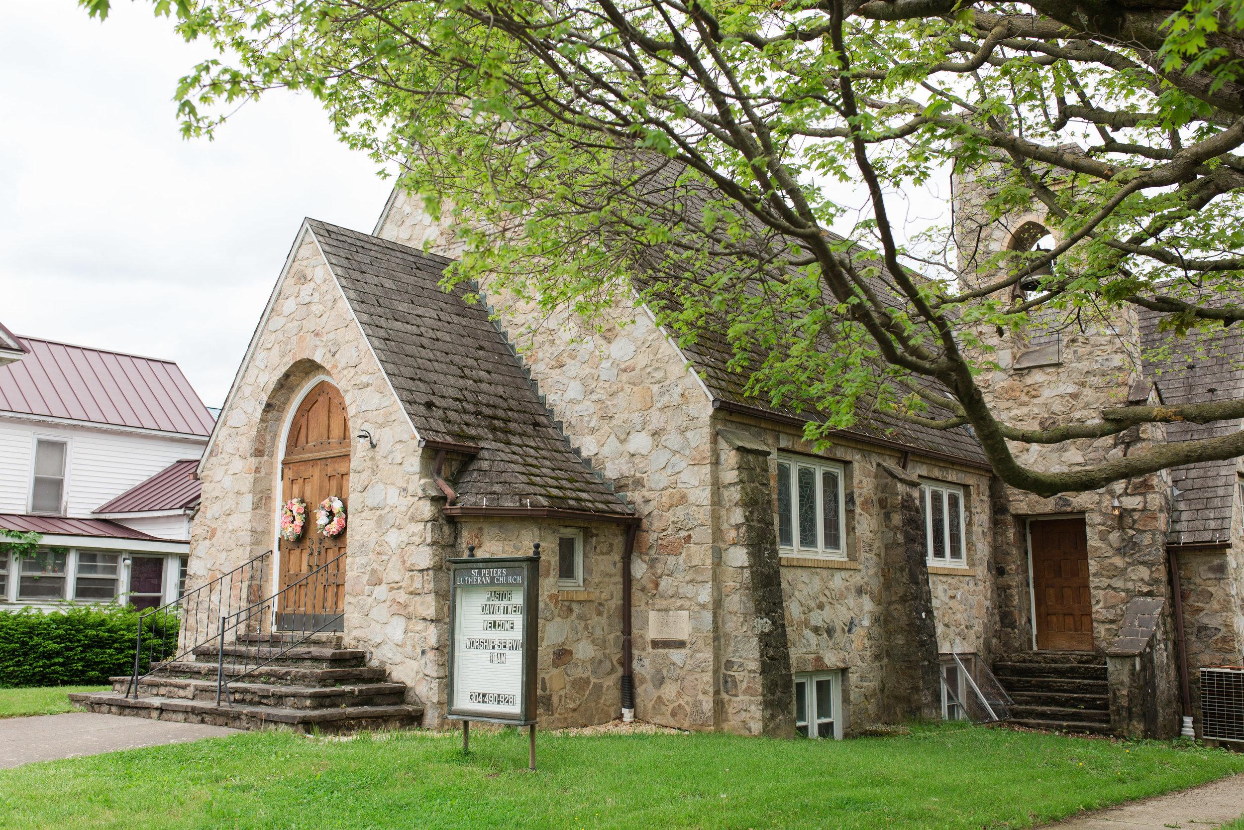 st. peter lutheran church, wardensville, wv