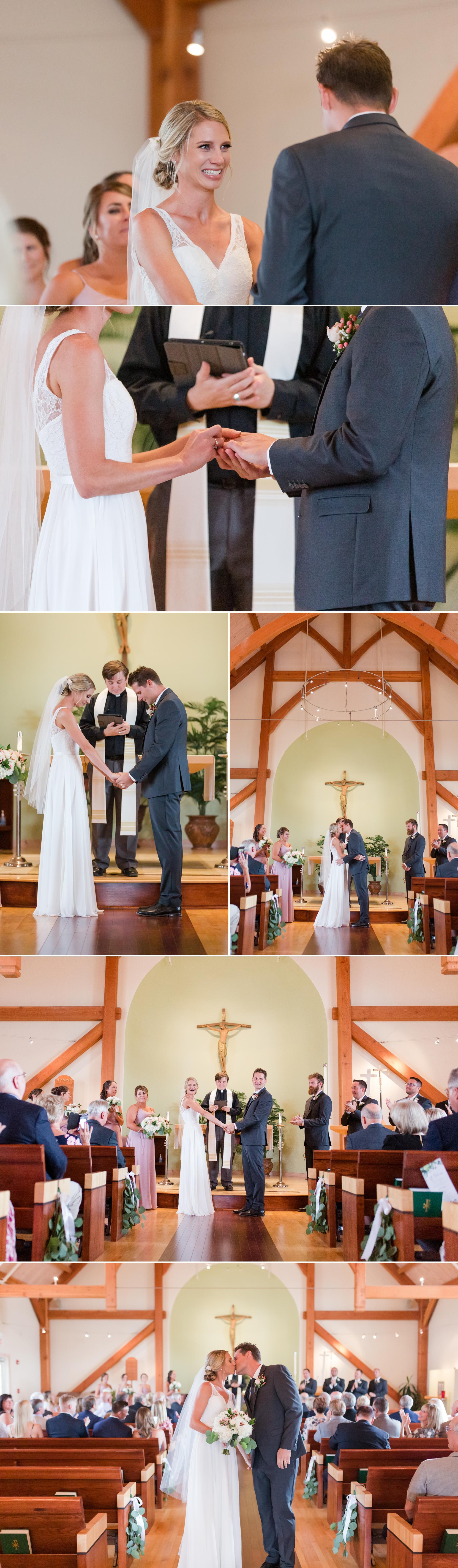 St. Bernard Chapel Wedding, Snowshoe Mountain Wedding, WV