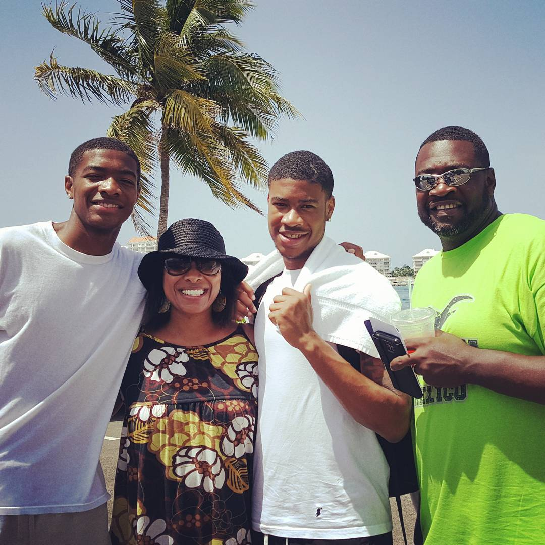 Meet the Womack's.. - My family and I in the Cayman Islands. We really enjoy hanging out with one another and living life. Not only am I thankful for these three, I'm blessed that God chose me to be a part of their lives.