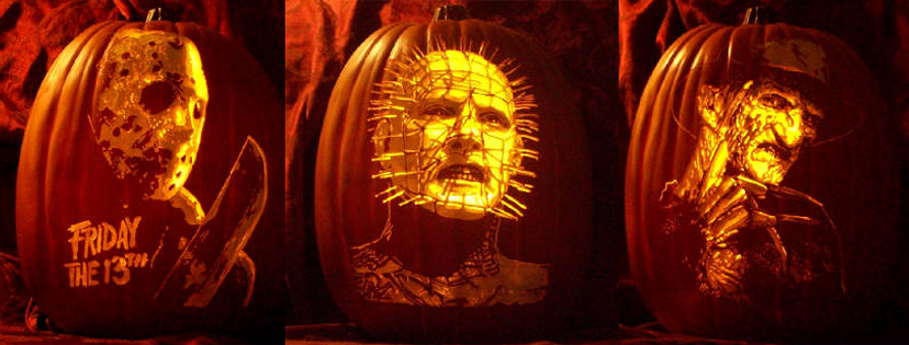 Join us in carving pumpkins, watching a few horror flix, and haveing some drinks. We'll have a couple dozen pumpkins on a first come basis and tools for carving. Feel free to bring your own pumpkin and tools if you're worried there won't be enough.  Movie details TBA