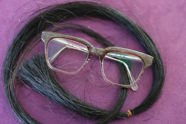 Horse Hair Eyeglasses Handcrafted in Vancouver