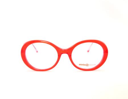 Round Red Eyeglasses Etnia Barcelona