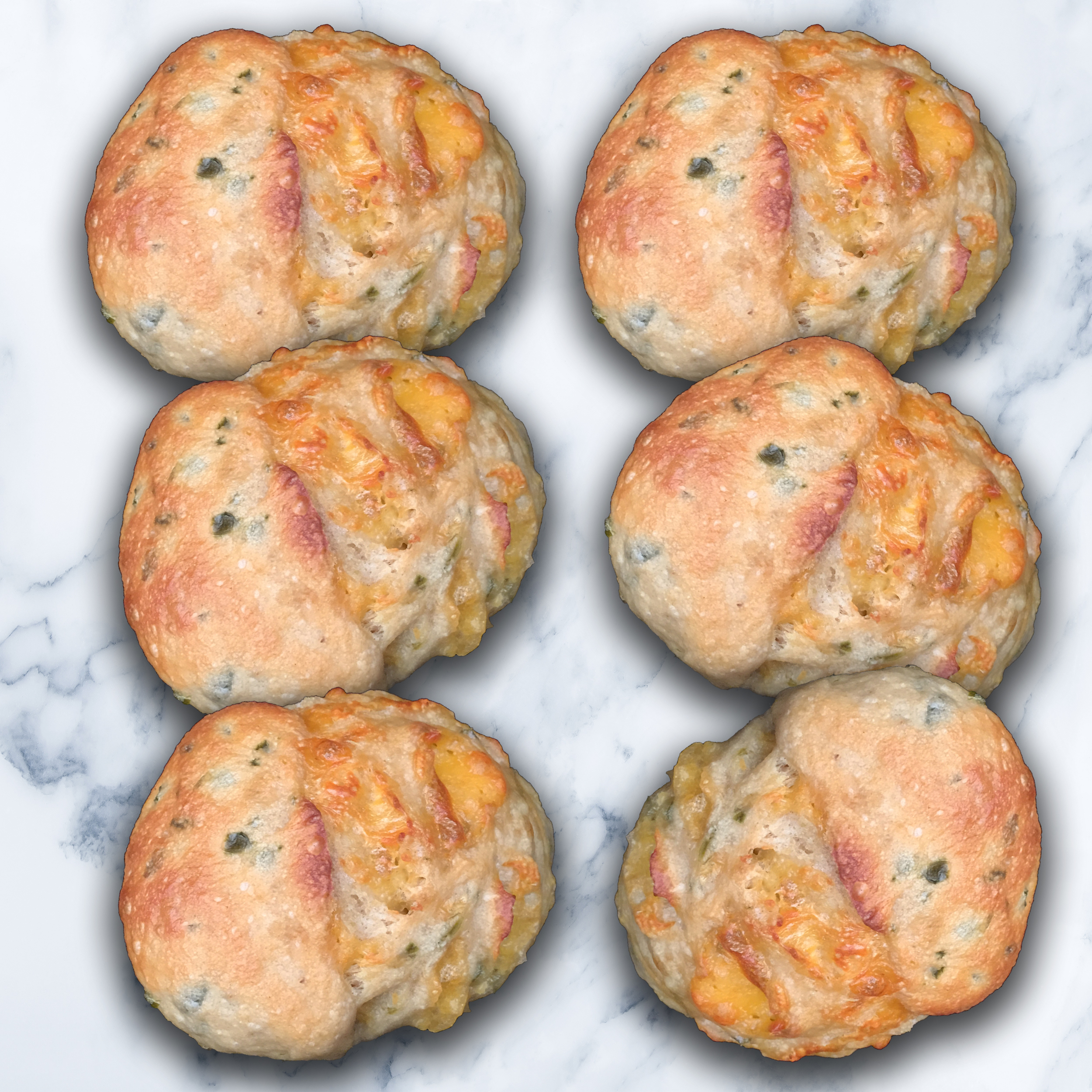 6 JALAPENO CHEESE SMALL BOULES