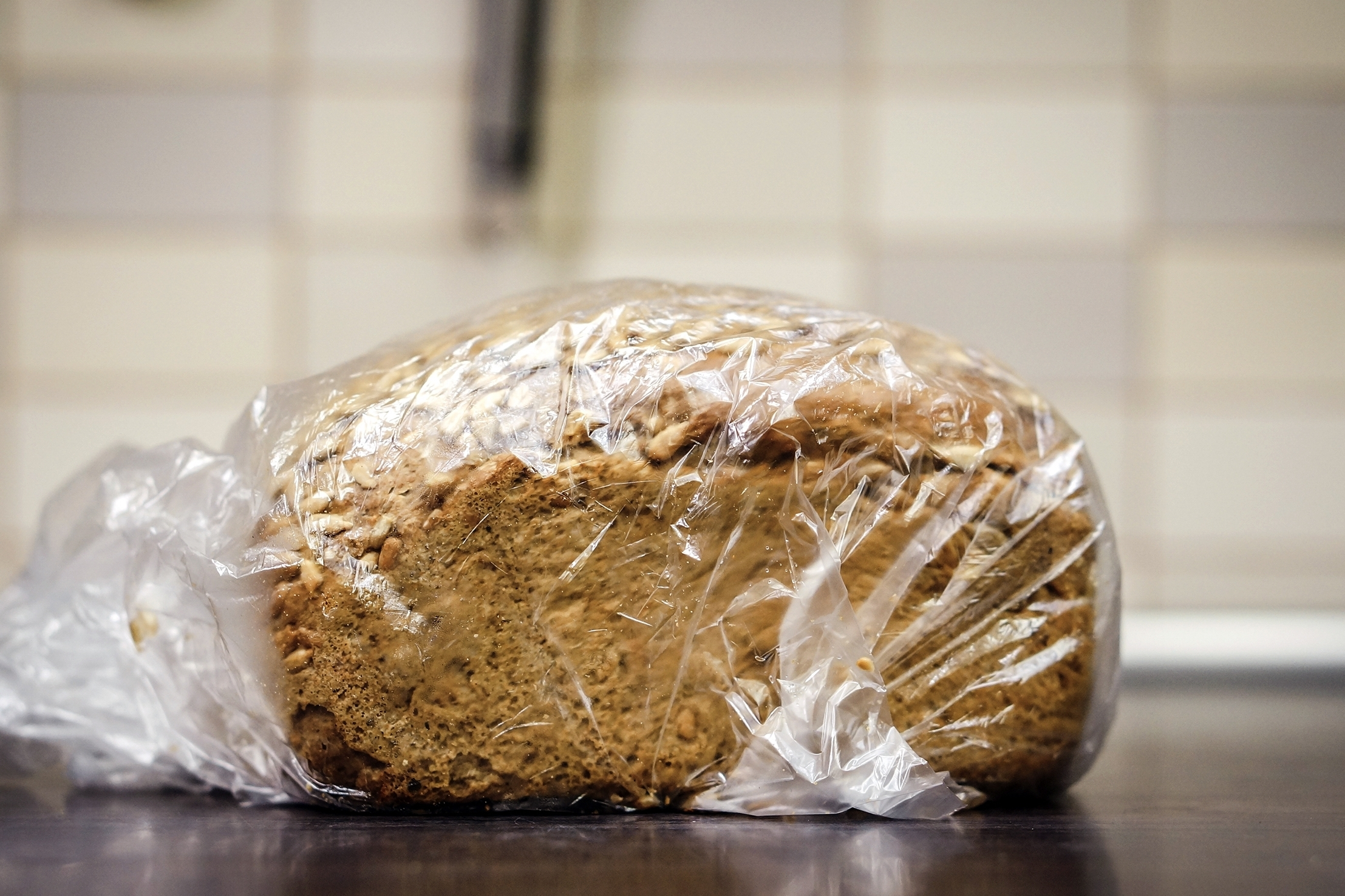WHEN FREEZING BREAD, MAKE SURE IT IS WELL WRAPPED: We recommend either double wrapping it with plastic, or tightly wrapping it in plastic and placing it inside of a Freezer storage bag. -
