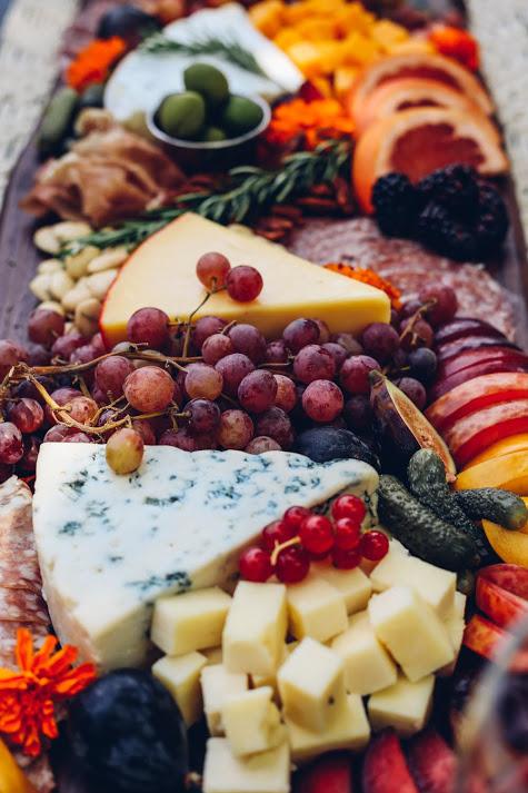 Fancy Cheese Board Dinner