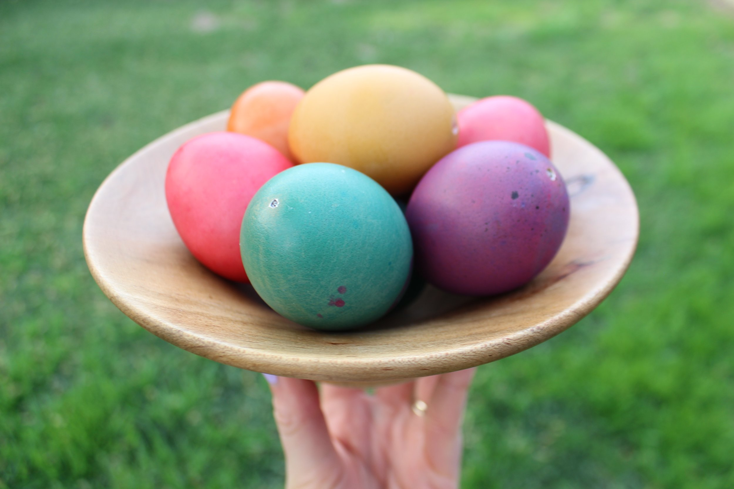 And there you have it— jewel-toned eggs pretty enough to wear!