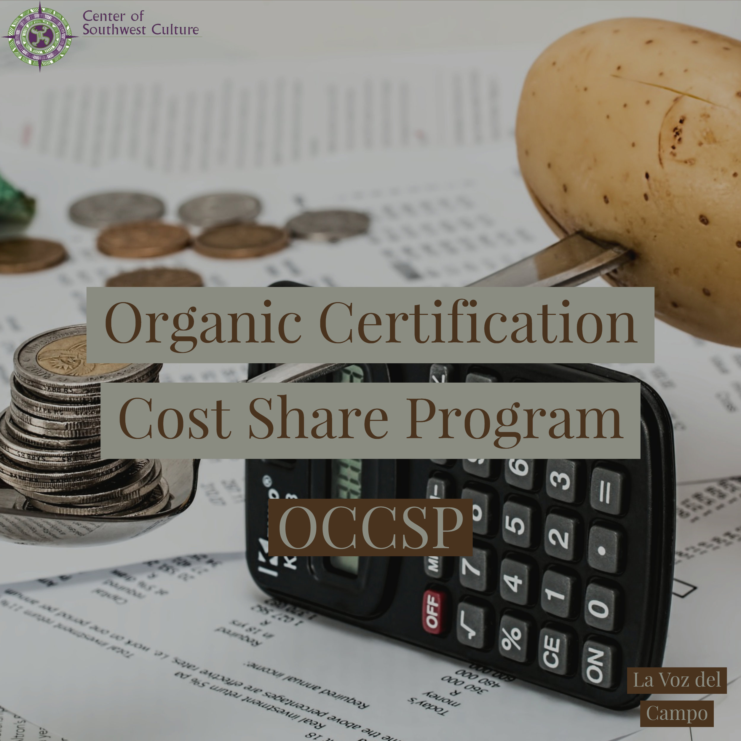 Organic Certification Cost Share Program - The program reimburses producers and handlers for a portion of their paid certification costs. Once certified, organic producers and handlers are eligible to receive reimbursement for up to 75 percent of certification costs each year, up to maximum of $750 per certification scope- crops, livestock, wild crops, handling and NM State Organic Program fees. PDF information can be found here.