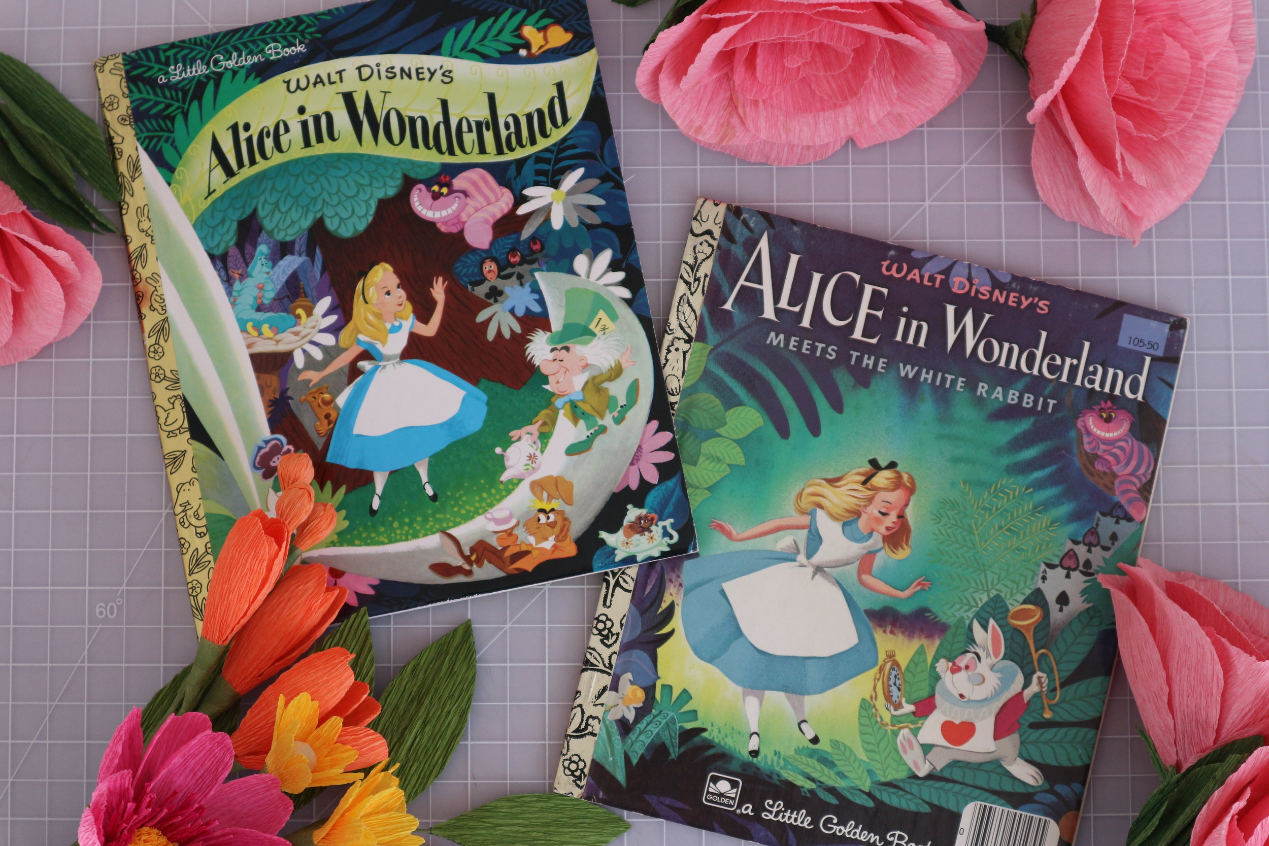 Alice in Wonderland - Little Golden Book editions