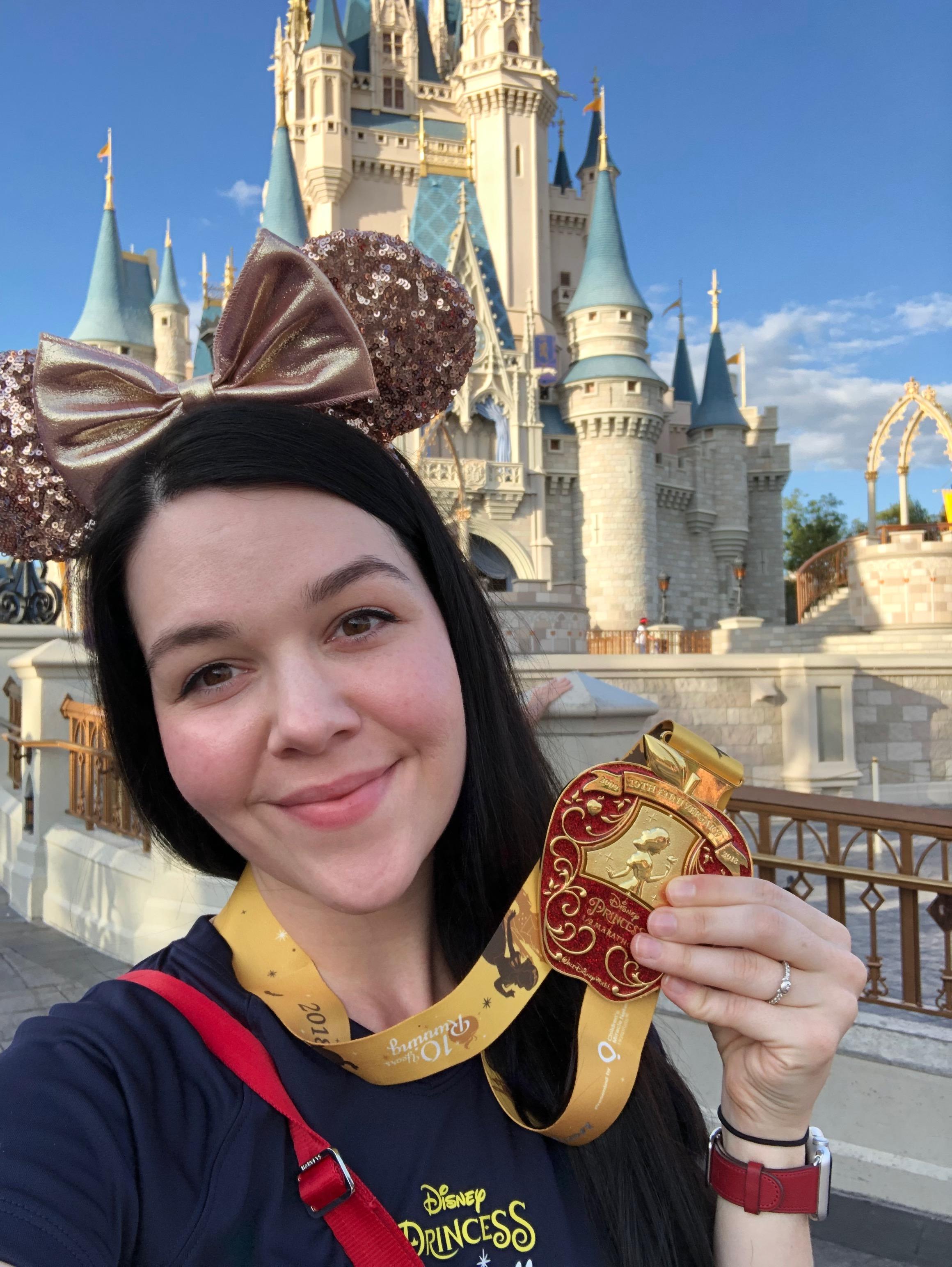 2018 Princess half marathon weekend