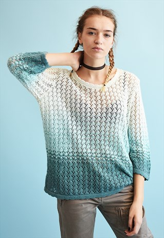 Crochet Ombre Sweater @ ASOS Marketplace