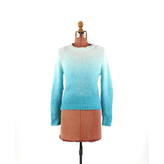 1970s Ombre Sweater @ Etsy