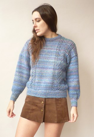 Blue stripey sweater @ ASOS Marketplace