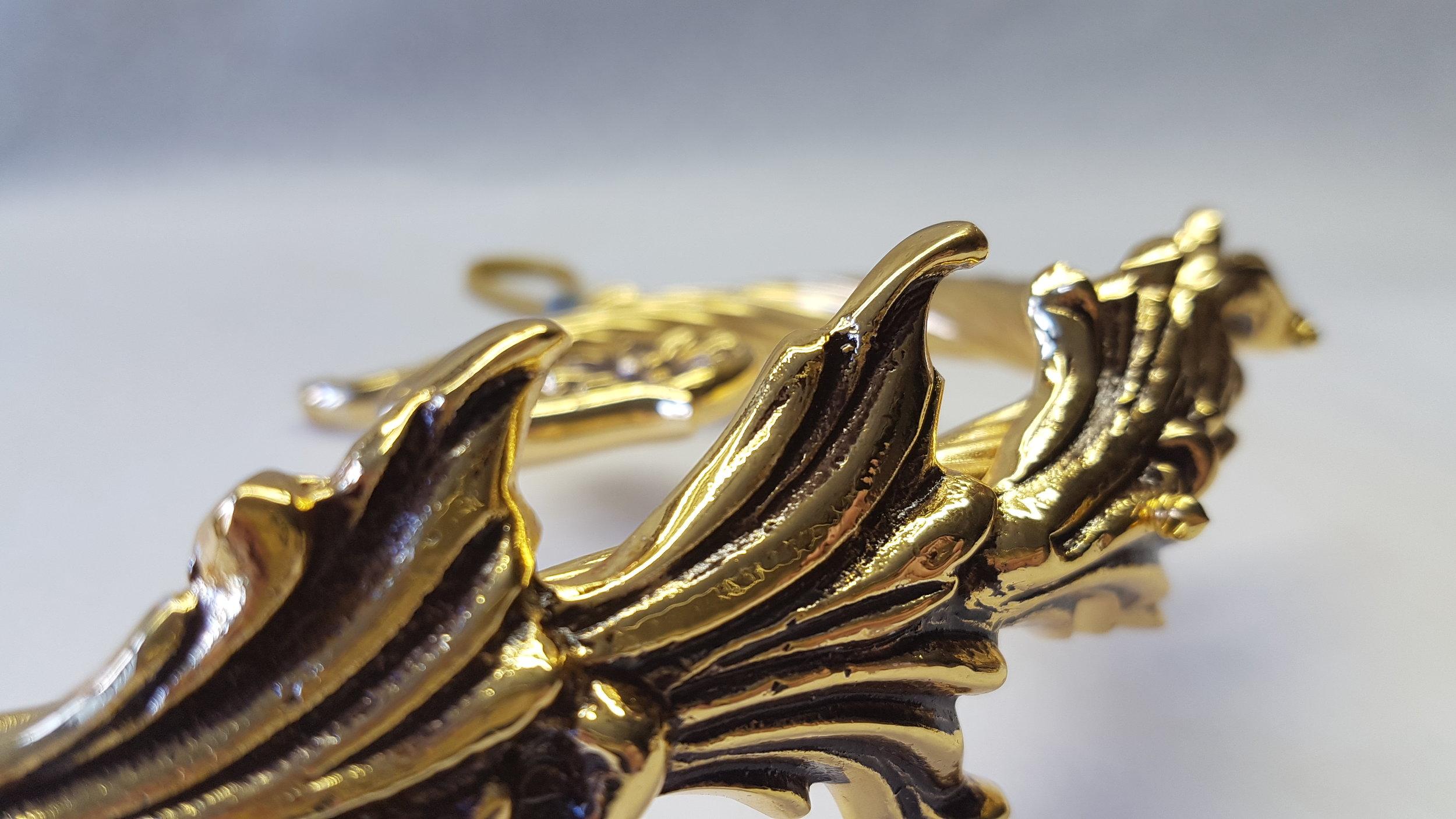 Brass Chandelier Part