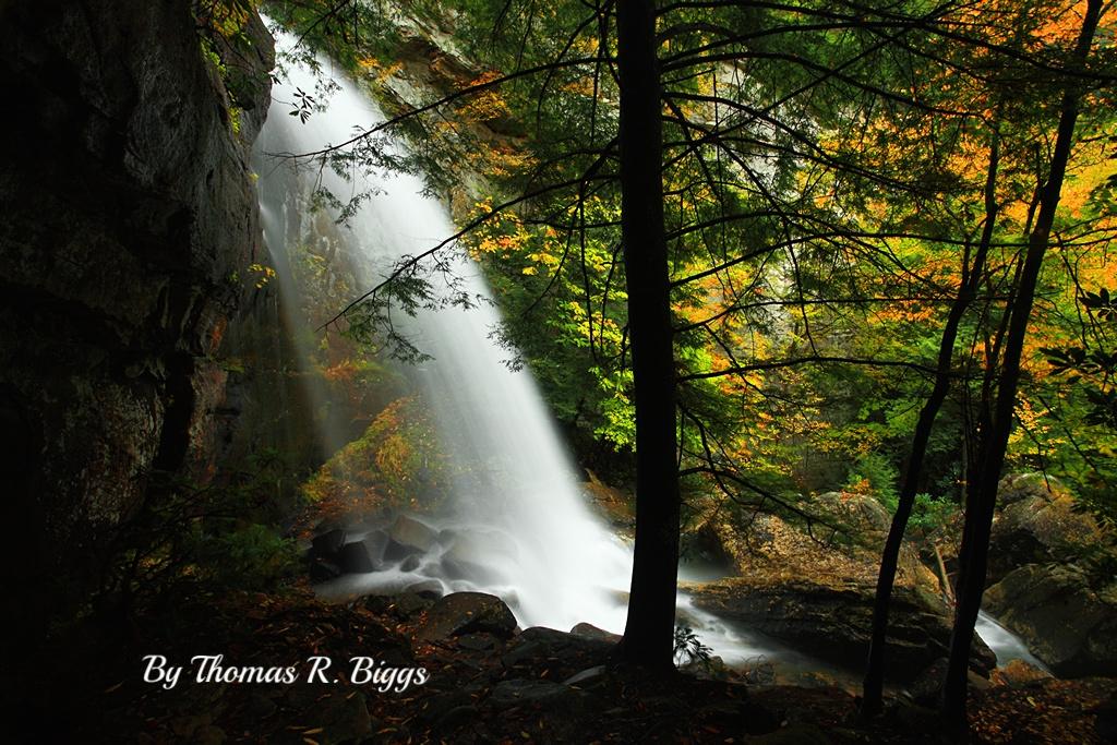 Bad Branch Falls photographed by Thomas R. Biggs