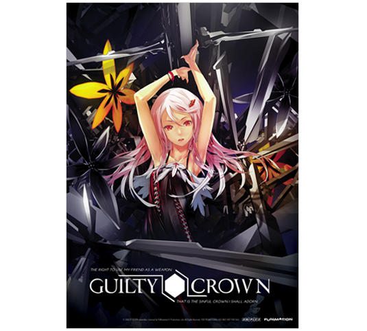 Guilty Crown Postcard Front