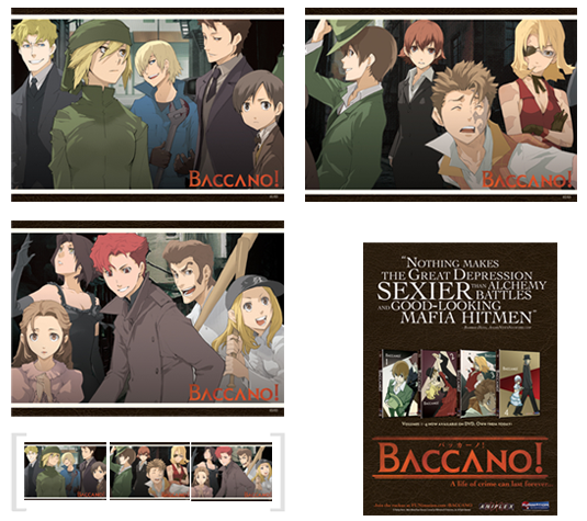 Convention Exclusive Postcard Set: three fronts make a panoramic image