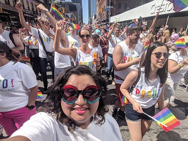 I was in a parade yesterday. It was pretty cool. #loveislove #pride #happypride #prideTO #proudinsurance
