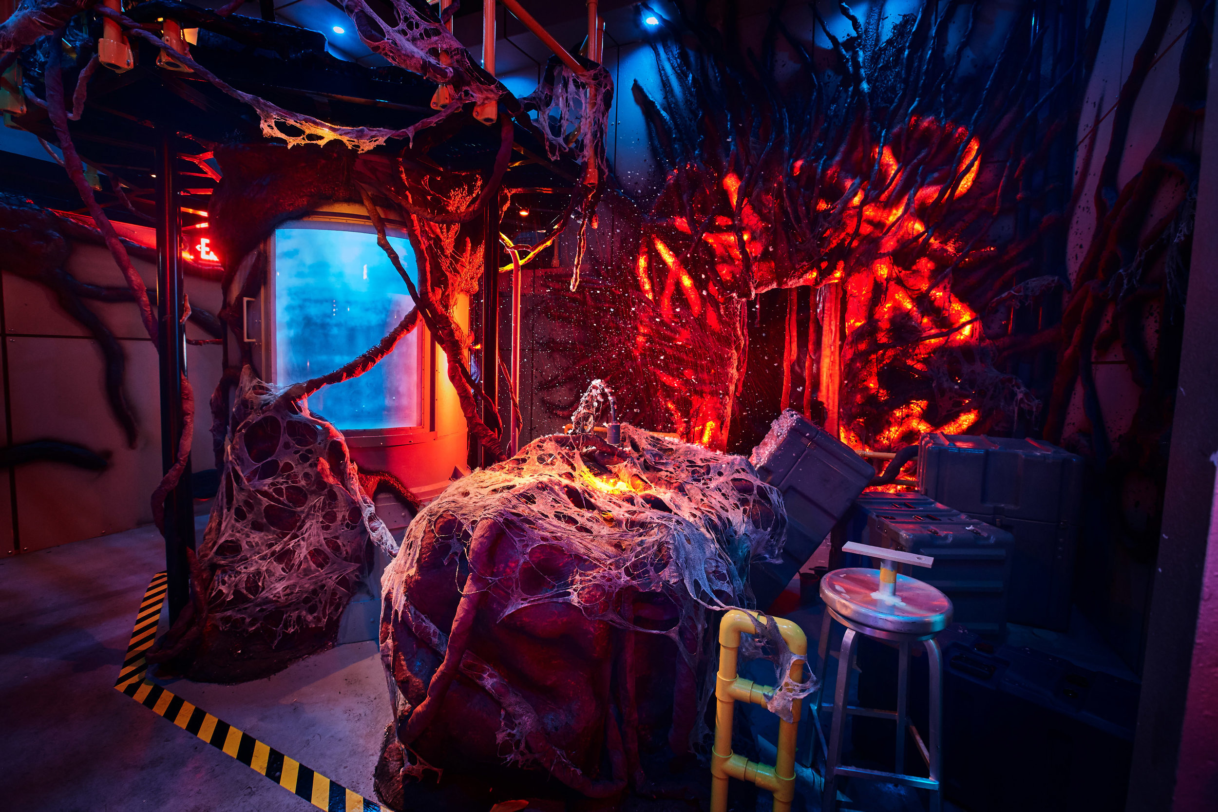 3_First Look Inside Stranger Things maze at HHN 2018.jpg