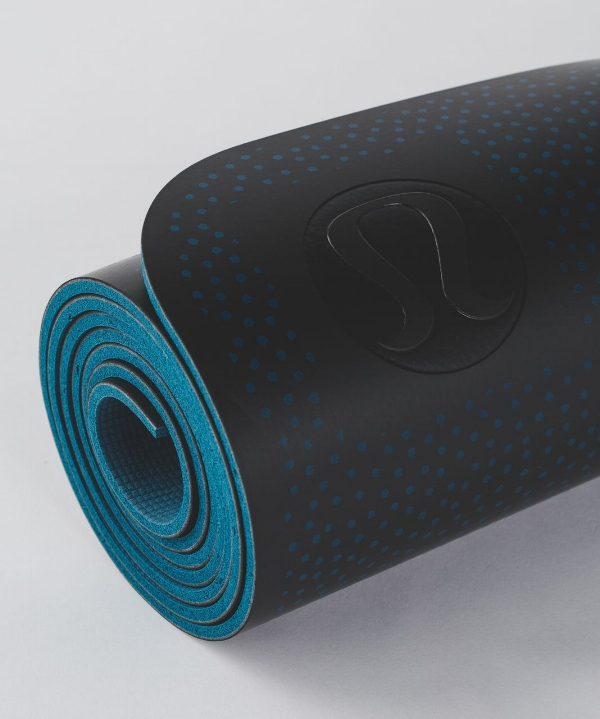 8. Sweat Repelling Yoga Mat - Lululemon's reversible 5mm yoga mat has great cushioning and is designed to wick away sweat and provide a good grip. It also contains an odour fighting component to keep the mat fresh.